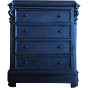 SALE 19th Century Antique French Faux Commode Cabinet