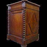 SALE 19th Century Antique French Renaissance Style Oak Cabinet