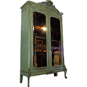 SALE 19th Century Antique French Louis XVI Style Armoire