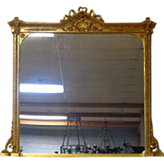 SOLD French Antique Louis XVI Style Gilded Mirror