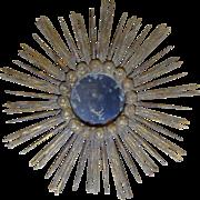 SOLD Antique Italian Sunburst Mirror