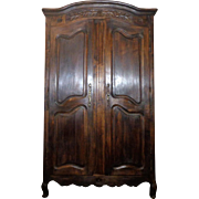 SALE 19th Century Antique Country French Louis XV Style Provencal Armoire