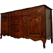 SOLD Antique French Louis XV Style Oak Buffet