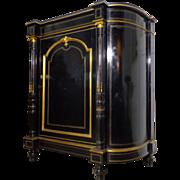 SALE 19th Century Antique French Napoleon III Ebony Buffet