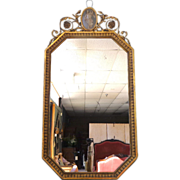 SOLD French Antique Art Nouveau Period Mirror