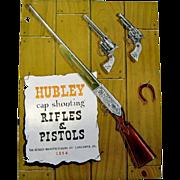 1954 Hubley Rifles & Pistols Catalog