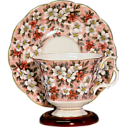 English Chintz Cup & Saucer by Royal Albert