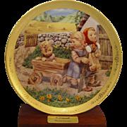 Hummel Plate Pleasant Journey