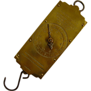 Sargent & Co's Brass Scale