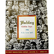 SALE 1955 Hubley Toy Catalog