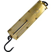 Landers 100 Pound Brass Scale