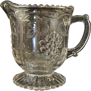 Victorian EAPG Pressed Glass Creamer
