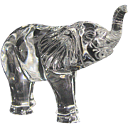 SOLD Waterford Crystal Elephant