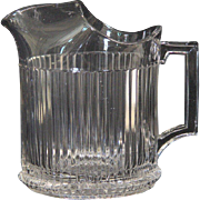 Heisey Ridgeleigh Water Pitcher