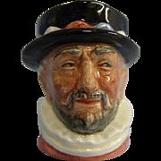 Miniature Royal Doulton Character Jug D6251 Beefeater