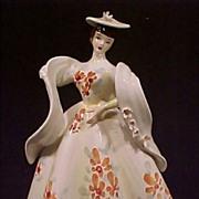 SALE Vintage Lefton Lady Figurine with Shawl