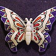 Vintage Butterfly Brooch Made In Germany