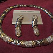 Estate Jewelry Set Necklace & Earrings