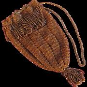 Fabulous Glass Beaded Flapper Purse Handbag