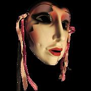 Fabulous Clayart Ceramic Face Masque Wall Hanging