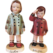 John-John & Caroline Kennedy Kids Figurines
