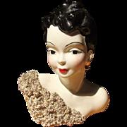 Lady Head w/ Stunning Off Shoulder Dress
