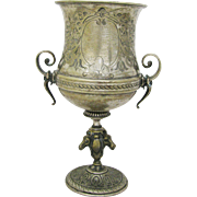 Antique Silver Plate Race Trophy Horse Theme Toronto Canada