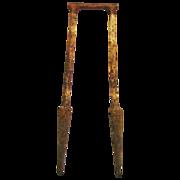 Antique Croquet Wicket Cast Iron