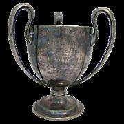 Antique Canoe Trophy West Roxbury, MA 1906