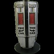 Vintage Art Deco Parking Meter Display