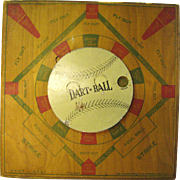 Vintage Baseball Dart Board Game