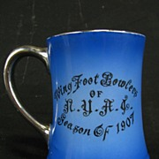 Antique Bowling Stein New York Athletic Club 1907