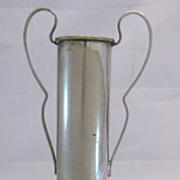 Vintage Australian 1936 Silver Plate Tennis Trophy