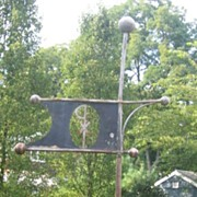 Folk Art Weathervane Circa 1940