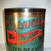 1906 Planter's Peanut Tin  Pennant Brand