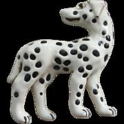 Mimi di N Pin-Dalmatian Dog-Artistic Enamel Finish-Miniature Sculpture
