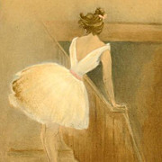 SALE Rare French 'Ballet Dancer' L'Estampe Moderne Lithograph 1897.