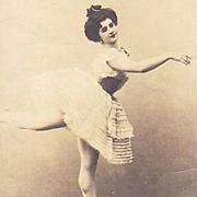 Rare Russian Issue Real Ballet Photo Postcard Vera Trefilova.