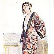 Rare Old Russian Advertising Postcard c1900