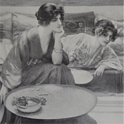 SALE Two Studio Magazine Engravings 1913.