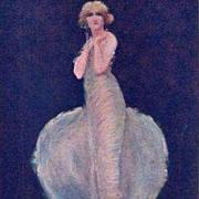 London Advertising Postcard 'The Pearl Girl' Shaftesbury Theatre 1913.