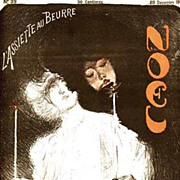 SALE Rare Complete Signed Art Nouveau French Lithograph Magazine~L'Assiette au Beurre: 'Noel'~
