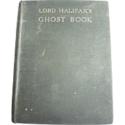 Lord Halifax's Ghost Book: Second Edition: November 1936
