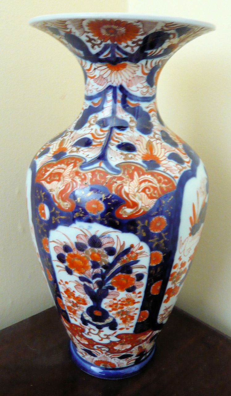 Japanese Imari Vase From Obantiques On Ruby Lane