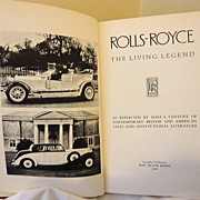 Rolls-Royce - The Living Legend: Post Motor Books: 1958