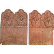 French Terra Cotta Garden Tiles