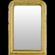 19th c. Louis Philippe Gilt Mirror