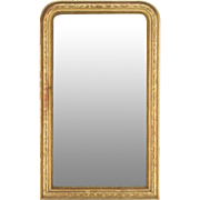 19th c. Louis Philippe Gilded Mirror