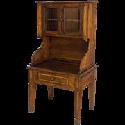 19th c. Louis XVI Style Miniature Desk
