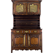 19th c. French Country Vaisellier or Hutch